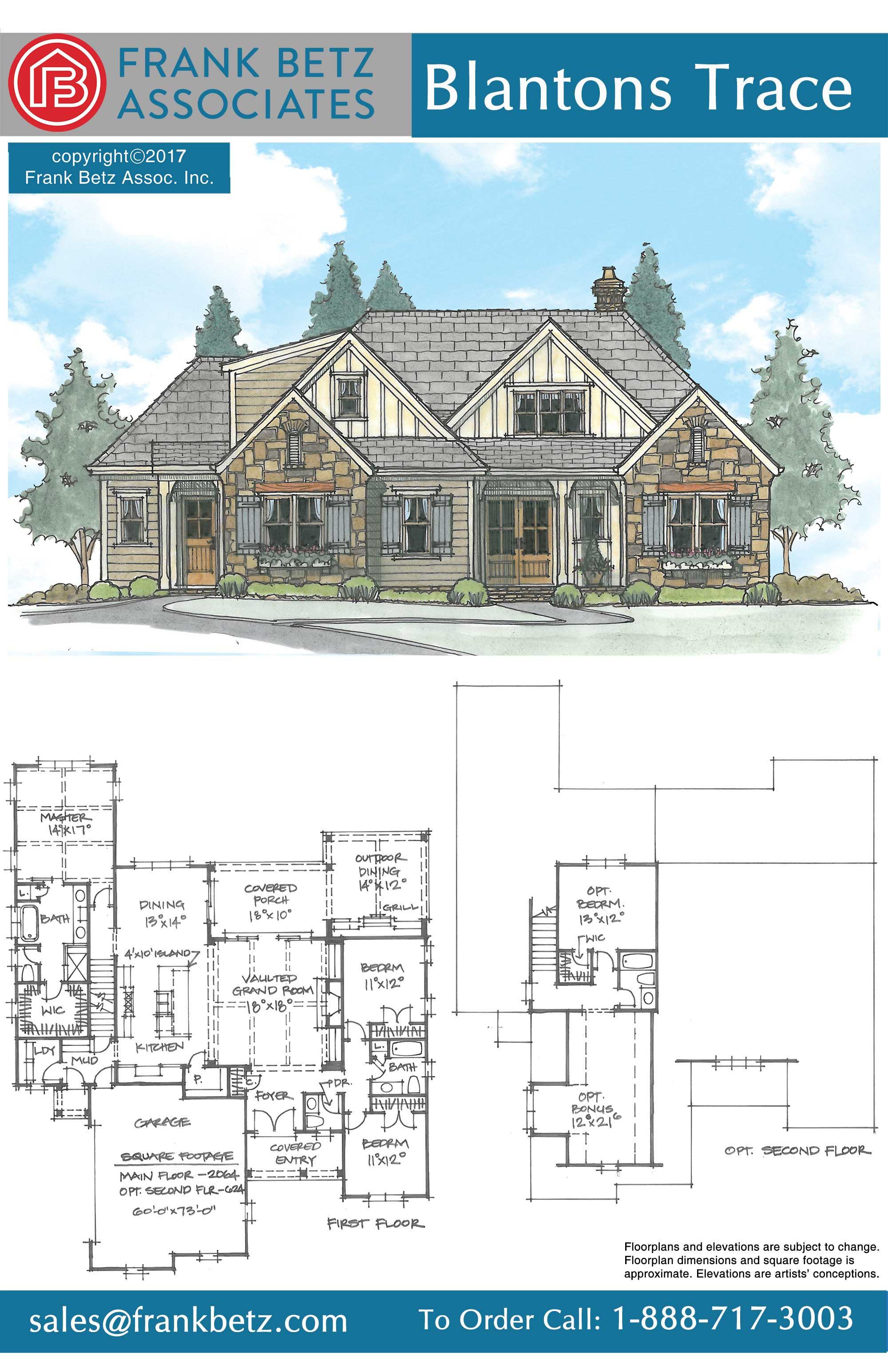 On the drawing board frank betz associates for Breland homes floor plans