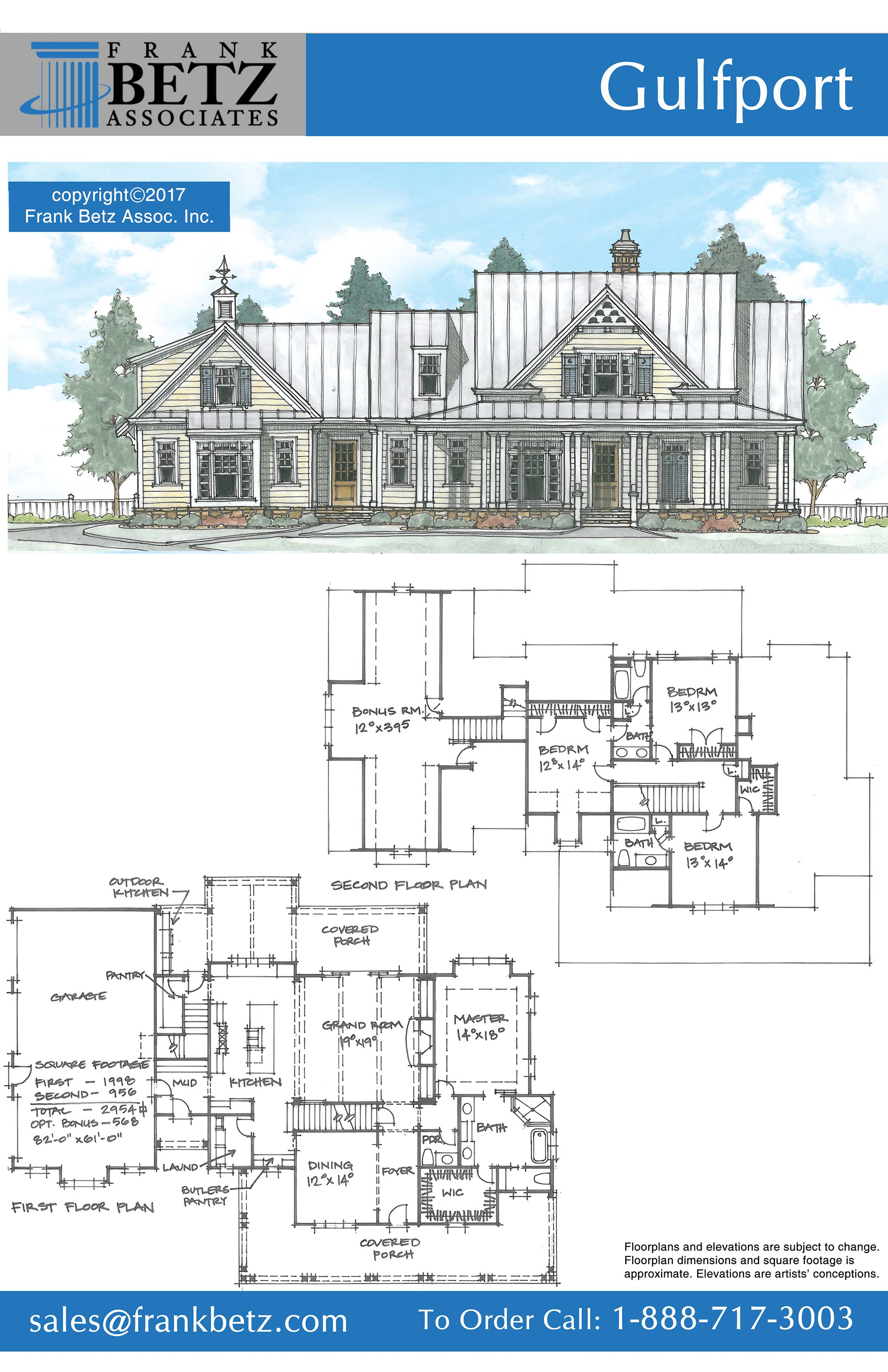 On the drawing board frank betz associates for Betz home plans