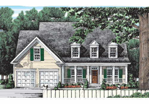 Willowbrook House Plan Elevation