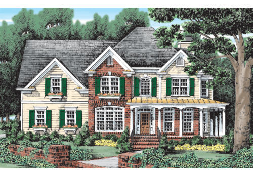 Brockett House Plan Elevation