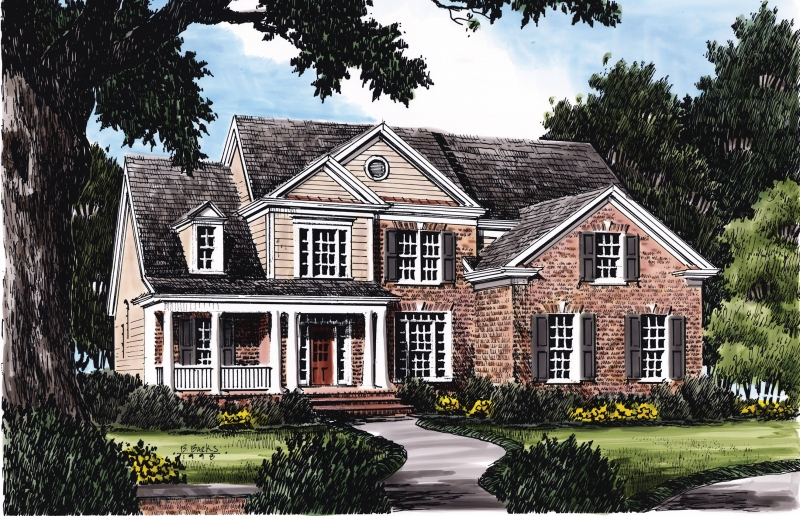 HANLEY HALL Southern Living House Plans