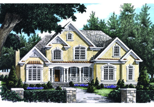 Candace House Plan Elevation