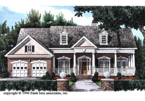 Sabrina House Floor Plan Frank Betz Associates