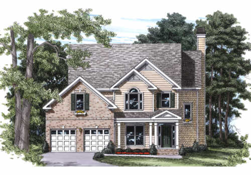 Thurman House Plan Elevation