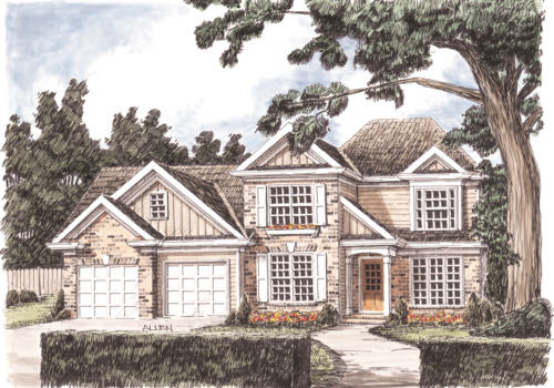 Bearden House Plan Elevation