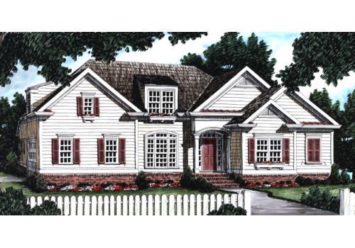 Avondale house floor plan frank betz associates for Avondale house