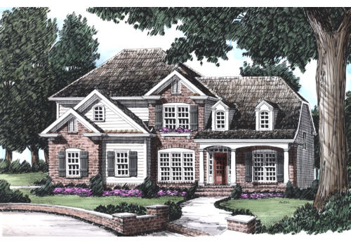 Stone Creek House Plan Elevation