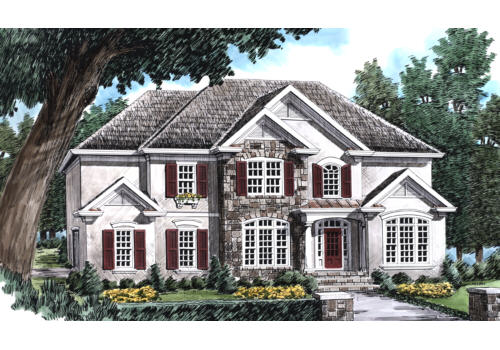 Drexel House Plan Elevation