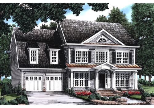 Oakland Hills House Plan