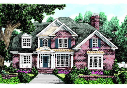 Albritton House Plan Elevation