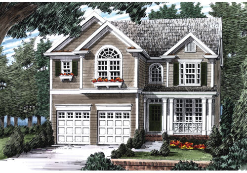 Bridleridge House Plan Elevation