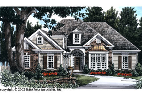 Brookhollow House Plan Elevation