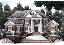 European House Plans Luxury Classic European House Plans With Narrow Lot Design