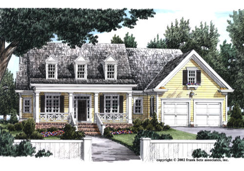 Guilford home plans and house plans by frank betz associates for The guilford house
