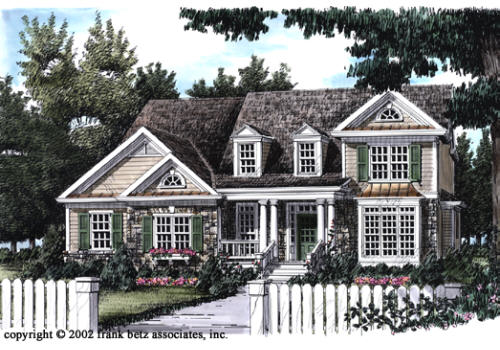 Lullwater House Plan Elevation