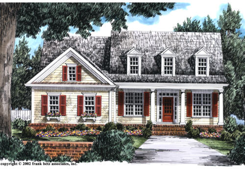 Powell House Plan Elevation
