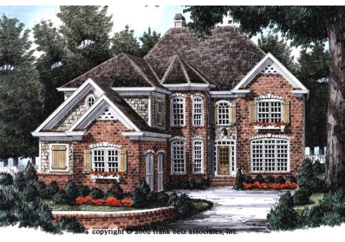 Summerlyn House Floor Plan Frank Betz Associates