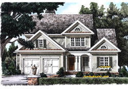 House plans home design floor plans and building plans for Traditional neighborhood design house plans