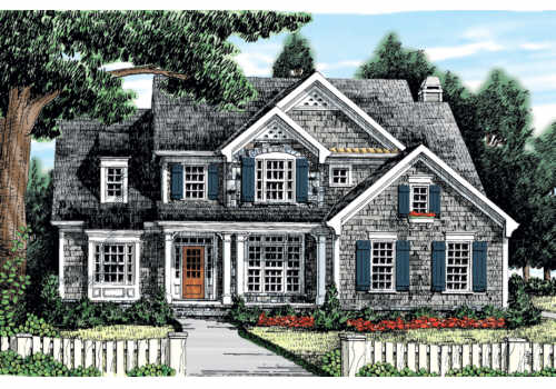 House Plans With Photos: Breyerton House Floor Plan