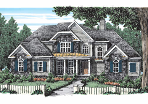 Fenway House Plan Elevation