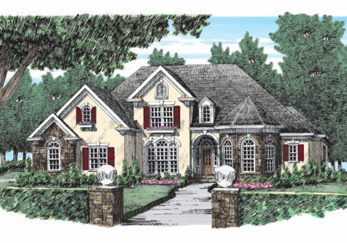 Witherspoon House Plan Elevation