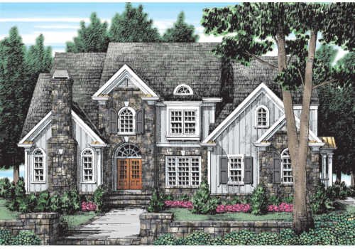 STONECREST Southern Living House Plans