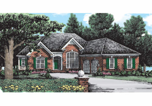 Amber Leaf Cottage House Plan Elevation