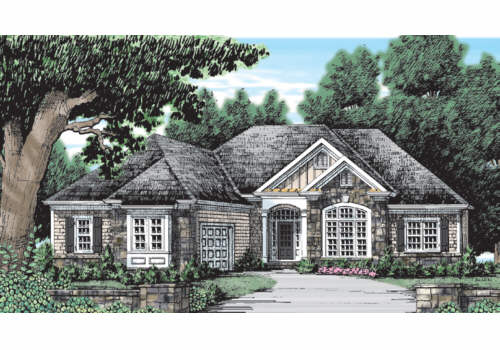 IVY SPRING COTTAGE Southern Living House Plans