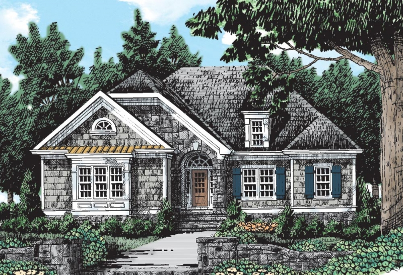 MAPLE RIDGE Southern Living House Plans
