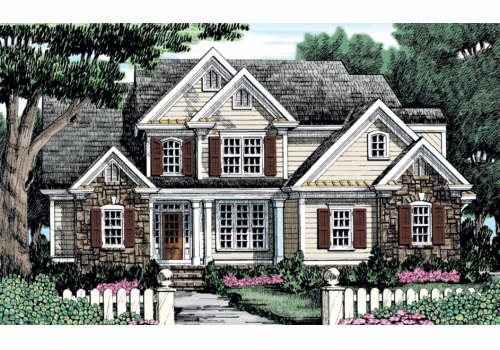 WILLOW CREEK Southern Living House Plans