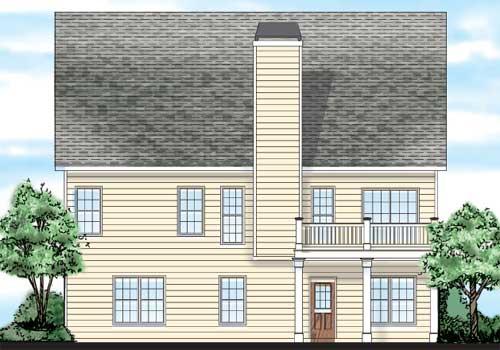 Brentwood House Floor Plan | Frank Betz Associates