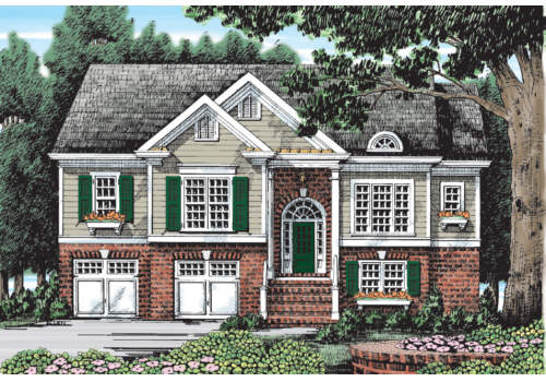 Falls Grove House Plan Elevation