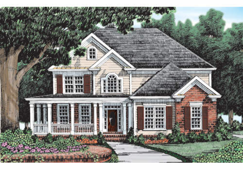 Greenville House Plan Elevation