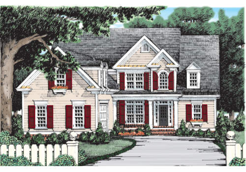 Addison Place House Plan Elevation