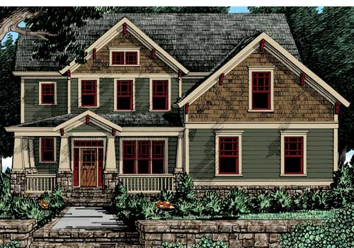 Bakersfield House Plan Elevation