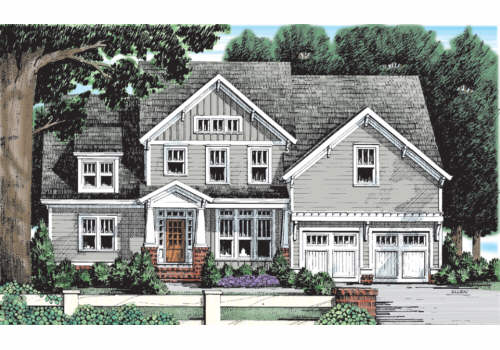 Palo Alto House Plan Elevation