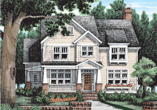 Ventura House Plan Elevation