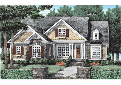 Hickory Grove House Plan Elevation