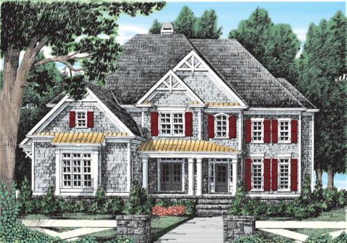 COPPER RIDGE Southern Living House Plans