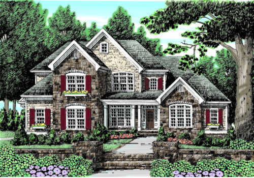 MCFARLIN PARK Southern Living House Plans