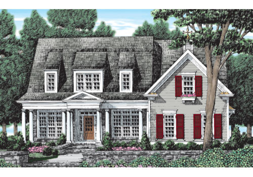 STEWARTS LANDING Southern Living House Plans