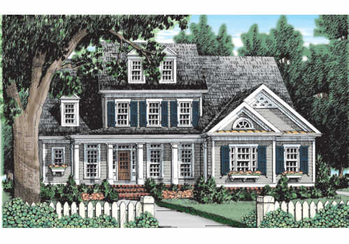BAINBRIDGE COURT Southern Living House Plans