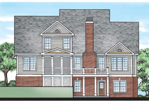 Bainbridge Court House Plan