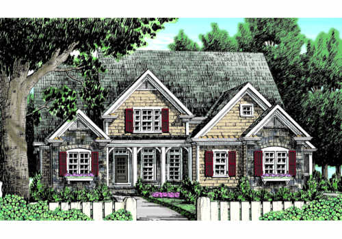 CATAWBA RIDGE Southern Living House Plans