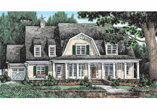 LATIMER FARM Southern Living House Plans