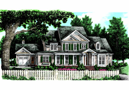 BALDWIN FARM Southern Living House Plans