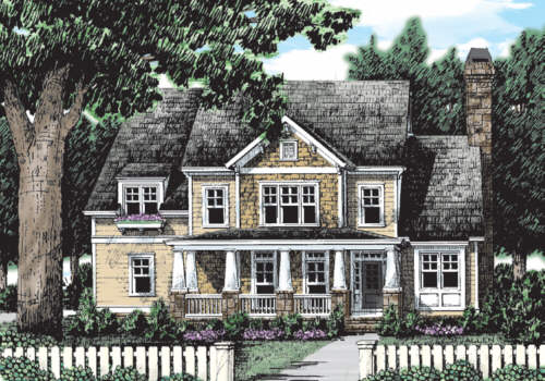 Mulholland House Plan Elevation