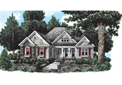 Classic Revival Home Plans