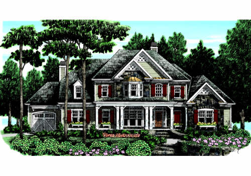 KEHELEY RIDGE Southern Living House Plans