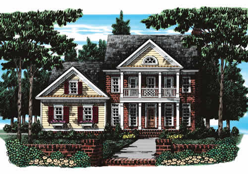 Dunaway House Plan Elevation